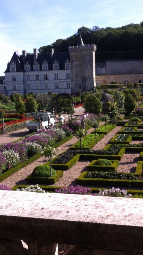 Château vu des potagers