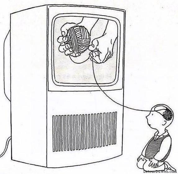 Effet de tele cerveau